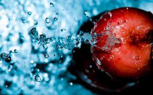 water-food-apples