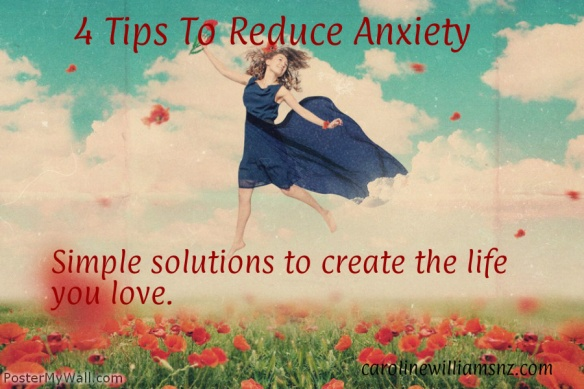 4 tips anxiety
